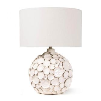 Lucia Ceramic Table Lamp (White) (5533 13-1366WT)