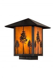 9''Sq Great Pines Deck Light (96|179934)