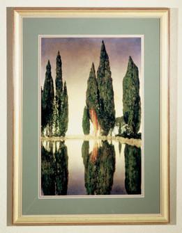 24''W X 33''H Maxfield Parrish Reservoir Framed Art.608 (96|46438)