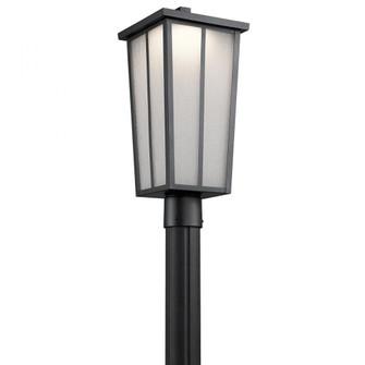 Outdoor Post Mt 1Lt LED (10684|49625BKTLED)