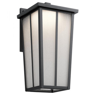 Outdoor Wall 1Lt LED (10684 49624BKTLED)
