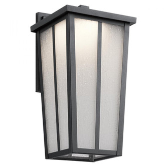 Outdoor Wall 1Lt LED (10684 49623BKTLED)