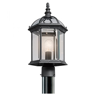 Outdoor Post Mt 1Lt LED (10684|49187BKL18)