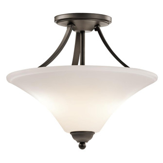 Semi Flush 2Lt LED (10684|43512OZL18)