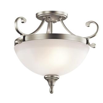 Semi Flush 2Lt LED (10684|43169NIL18)