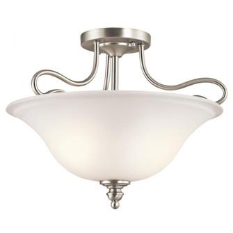 Semi Flush 2Lt LED (10684|42900NIL18)