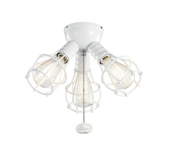 Industrial 3 Light Fixture LED (10684|380041WH)