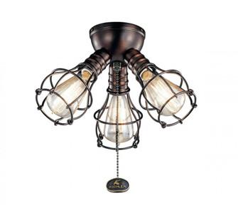Industrial 3 Light Fixture LED (10684|380041OBB)