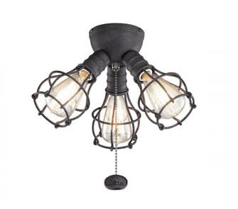 Industrial 3 Light Fixture LED (10684|380041DBK)