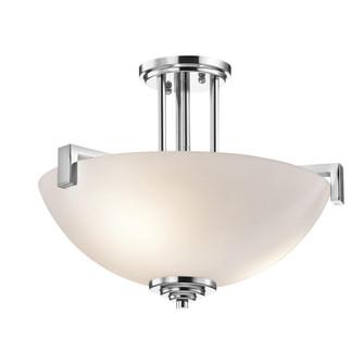Pendant/Semi Flush 3Lt LED (10684|3797CHL18)