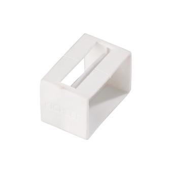Tape Light U Track End Cap (10684|10176WH)