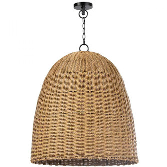 Beehive Outdoor Pendant Large (Weathered Natural (5533 17-1002NAT)