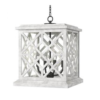 Chatham Wood Lantern (White) (5533|16-1364WT)