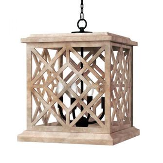 Chatham Wood Lantern (Natural) (5533|16-1364NAT)
