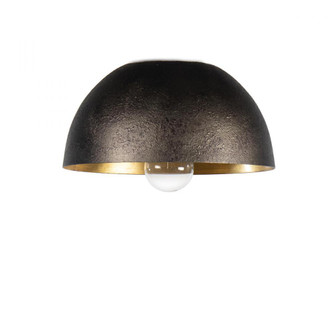 Sigmund Flush Mount (Black and Gold) (5533 16-1346BLK)