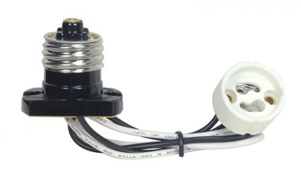 E26 FLANGED ADAPTER TO GU10 (27 80/2368)