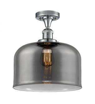 X-Large Bell 1 Light Semi-Flush Mount (3442 517-1CH-PC-G73-L-LED)