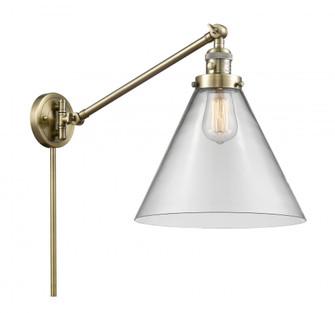 X-Large Cone 1 Light Swing Arm (3442|237-AB-G42-L)
