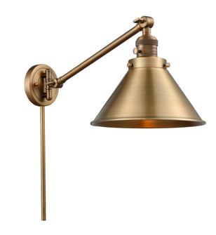 Briarcliff 1 Light Swing Arm (3442|237-BB-M10-BB-LED)