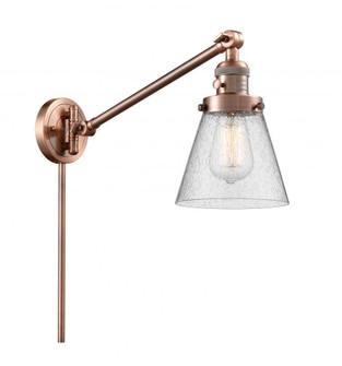 Small Cone 1 Light Swing Arm (3442|237-AC-G64)