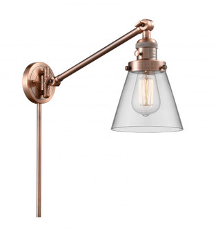 Small Cone 1 Light Swing Arm (3442|237-AC-G62-LED)