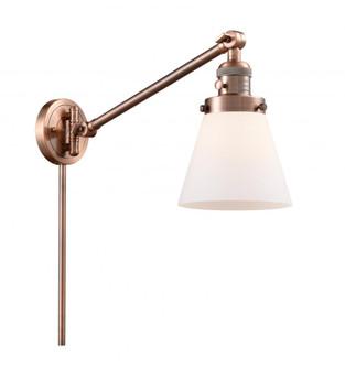 Small Cone 1 Light Swing Arm (3442|237-AC-G61)