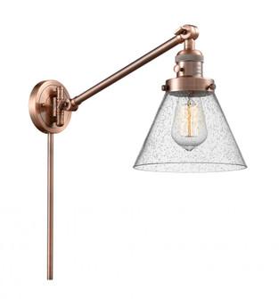 Large Cone 1 Light Swing Arm (3442|237-AC-G44-LED)