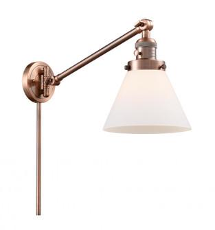 Large Cone 1 Light Swing Arm (3442|237-AC-G41-LED)