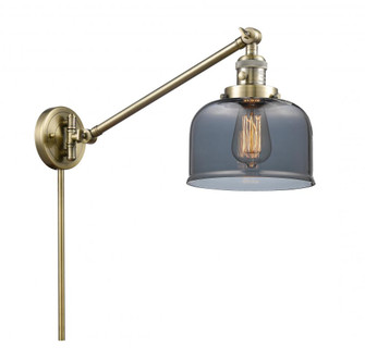 Large Bell 1 Light Swing Arm (3442|237-AB-G73)