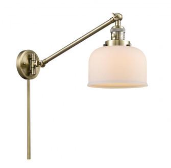 Large Bell 1 Light Swing Arm (3442|237-AB-G71)