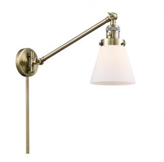 Small Cone 1 Light Swing Arm (3442|237-AB-G61)