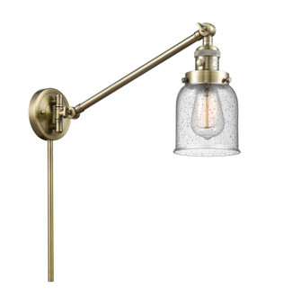 Small Bell 1 Light Swing Arm (3442|237-AB-G54-LED)