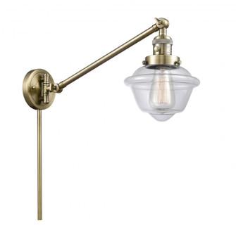 Small Oxford 1 Light Swing Arm (3442|237-AB-G532)