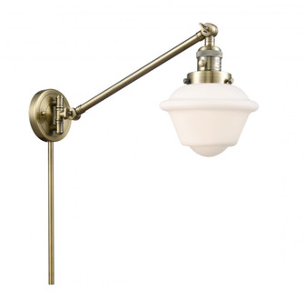 Small Oxford 1 Light Swing Arm (3442|237-AB-G531)