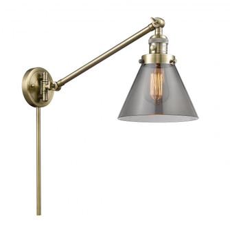 Large Cone 1 Light Swing Arm (3442|237-AB-G43)