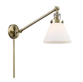 Large Cone 1 Light Swing Arm (3442|237-AB-G41-LED)