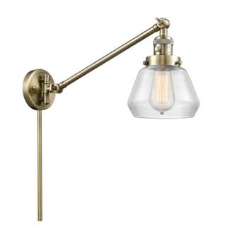 Fulton 1 Light Swing Arm (3442|237-AB-G172-LED)