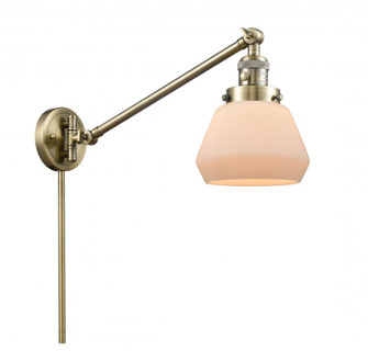 Fulton 1 Light Swing Arm (3442|237-AB-G171)