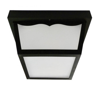 Olden 10'' LED Outdoor Flush Mount (1|OCFW70050LBK)