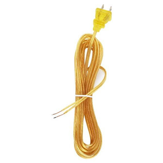 15' CLEAR GOLD CORD SET SPT-1 (27 90/1531)