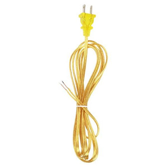 8' CLEAR GOLD CORD SET SPT-1 (27 90/1526)