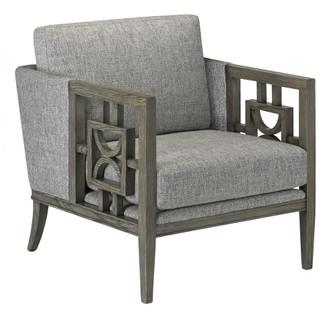 Royce Silver Gray Chair (92|7000-0422)