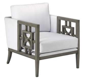 Royce Muslin Gray Chair (92|7000-0421)
