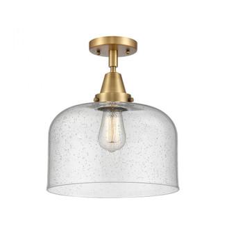 X-Large Bell Flush Mount (3442|447-1C-BB-G74-L)