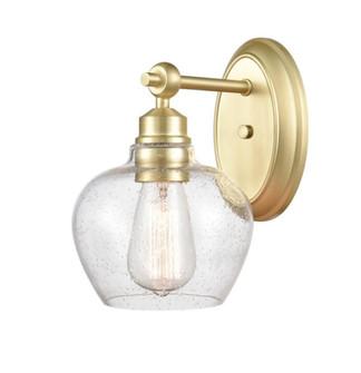 Amina Bath Vanity Light (3442 438-1W-SB-G4384-LED)