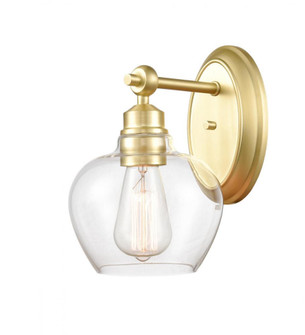 Amina Bath Vanity Light (3442 438-1W-SB-G4382-LED)