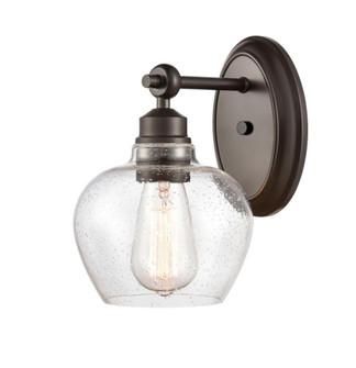 Amina Bath Vanity Light (3442 438-1W-BK-G4384-LED)