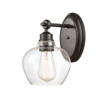 Amina Bath Vanity Light (3442 438-1W-BK-G4382-LED)
