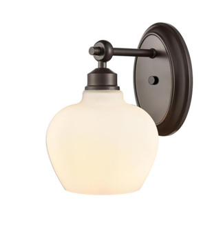 Amina Bath Vanity Light (3442 438-1W-BK-G4381-LED)