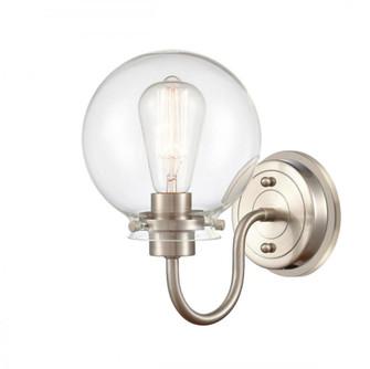 Olivia Bath Vanity Light (3442 437-1W-SN-G4372-LED)